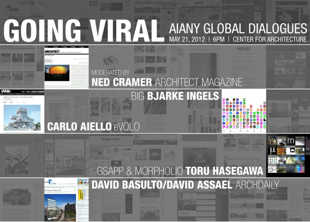 ArchDaily at the Center for Architecture! Going Viral: Blurred Borders