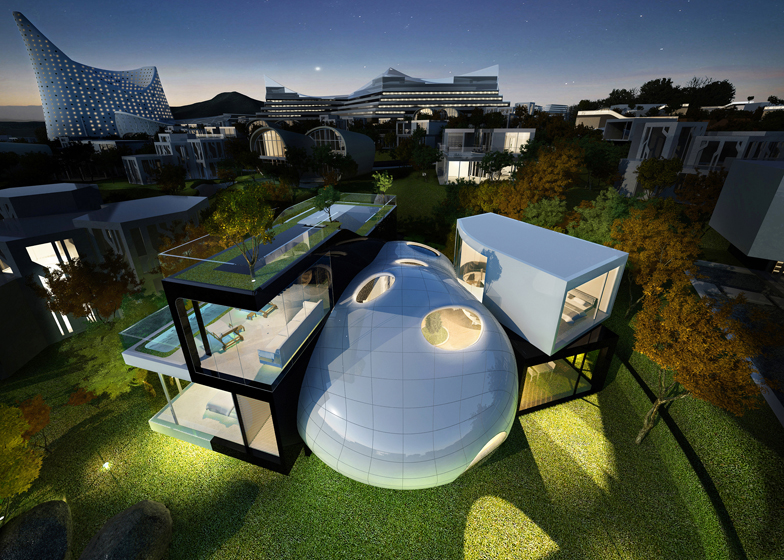 Cocoon House / Planning Korea