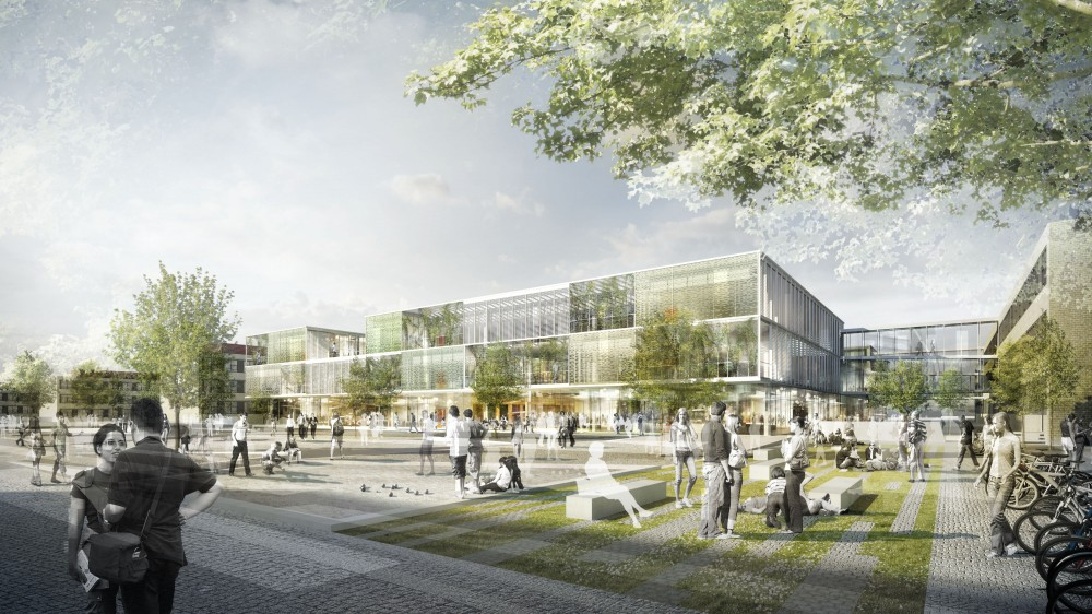 Research and Educational Building for Technical University Denmark / Christensen &#038; Co. Architects + Rrbk &#038; Mller architects
