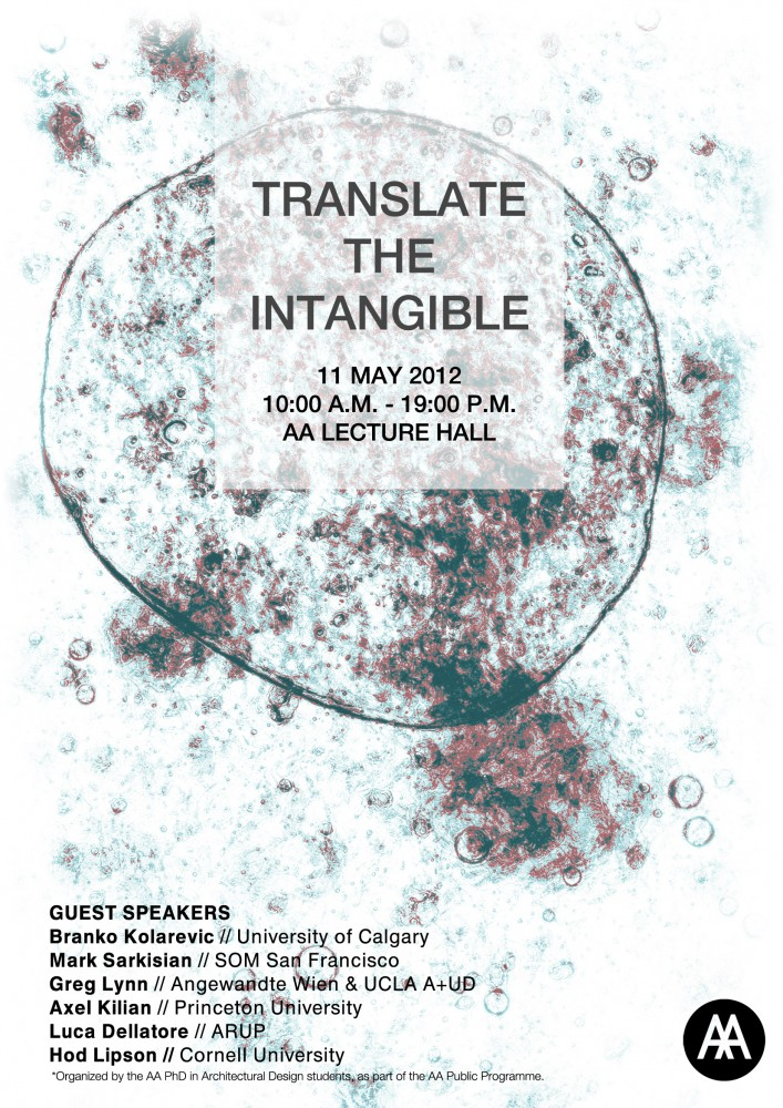 &#8216;Translate the Intangible&#8217; Symposium