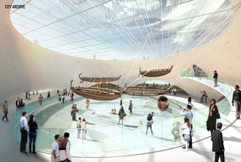 Yenikap Transfer Point and Archaeo-Park / MVRDV + ABOUTBLANK