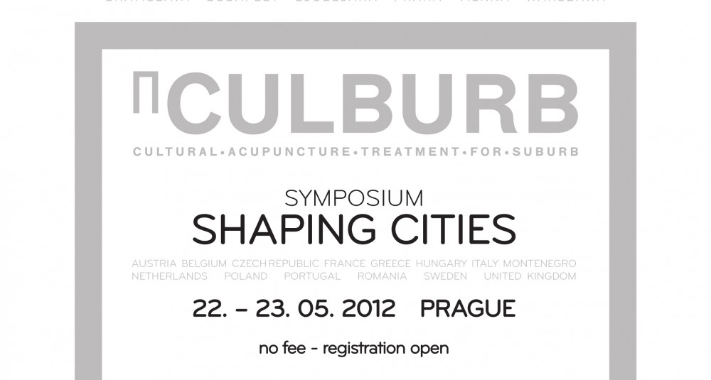 CULBURB Shaping Cities Symposium + Workshop