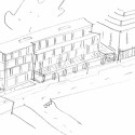 New Housing for Researcher Workers (8) sketch