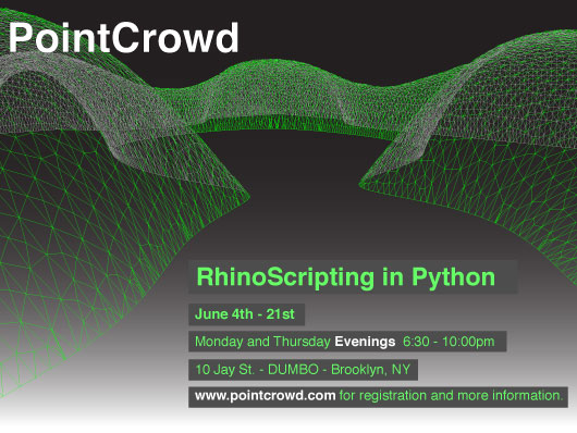 PointCrowd: RhinoScripting in Python