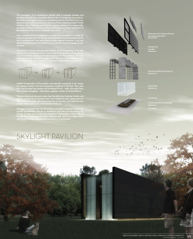 Sky Light Pavilion / Nimbu