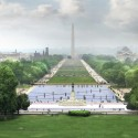 National Mall Winning Design Proposal for Union Square (1) View from US Capitol Speakers Balcony - Courtesy of GGN,  Methanoia