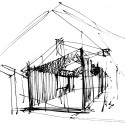 Renovation of an old barn / Comac (14) sketch