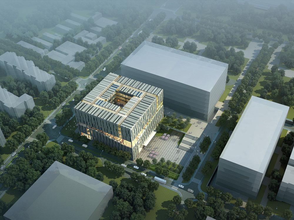Tsinghua Law Library Building Proposal / Kokaistudios