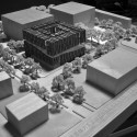 Tsinghua Law Library Building Proposal (10) model 03