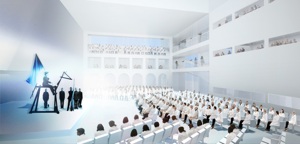 Marina Abramovic Institute + OMA