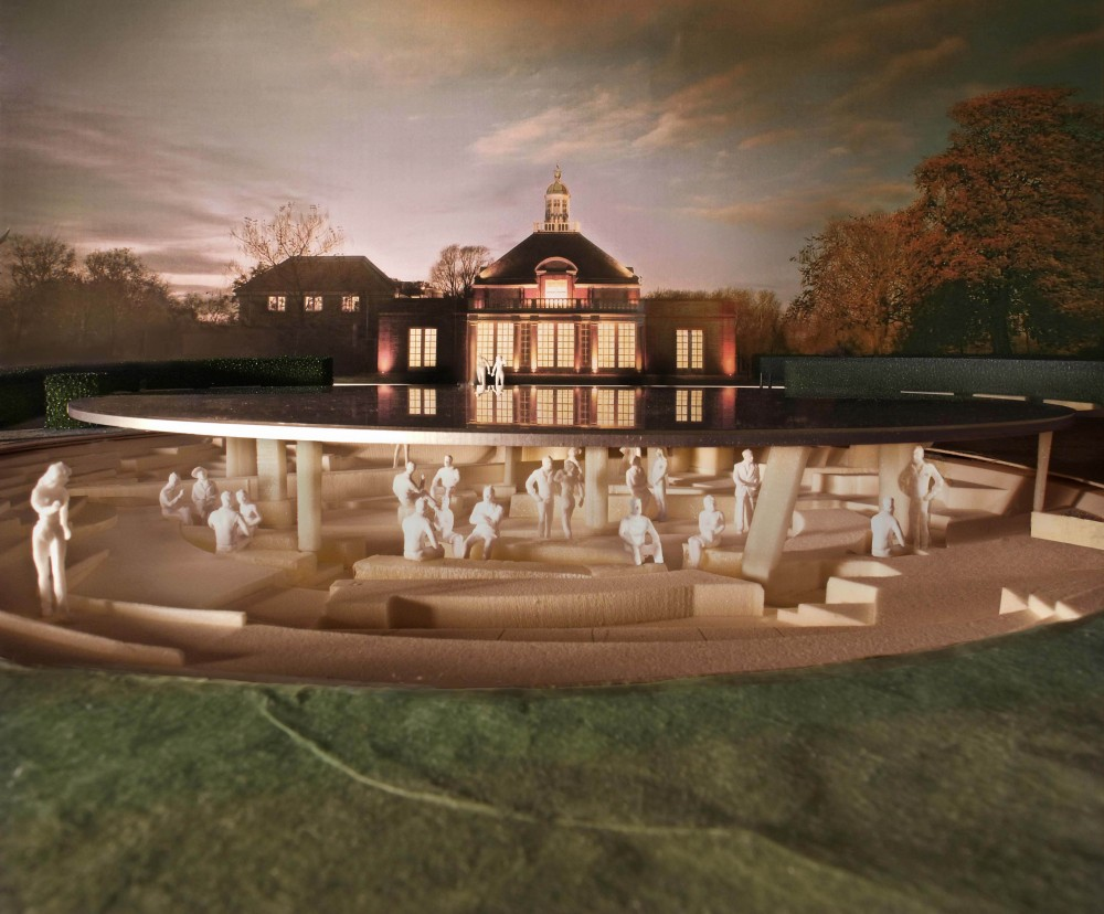 Herzog & de Meuron and Ai Weiwei's Serpentine Gallery Pavilion design revealed