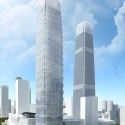 SOM's newest building at Beijing's China World Trade Center (CWTC) complex (1) Courtesy of SOM