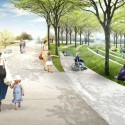 National Mall Winning Design Proposal for Sylvan Theater / Weiss/Manfredi + OLIN  (7) Woodland Walks - Courtesy of Weiss/Manfredi + OLIN