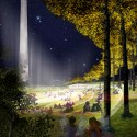"National Mall Winning Design Proposal for Sylvan Theater / Weiss/Manfredi + OLIN  (8) ""A New Performance Horizon"" - Courtesy of Weiss/Manfredi + OLIN"