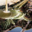 National Mall Winning Design Proposal for Sylvan Theater / Weiss/Manfredi + OLIN  (1) Sylvan Grove - Courtesy of Weiss/Manfredi + OLIN