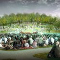 National Mall Winning Design Proposal for Sylvan Theater / Weiss/Manfredi + OLIN  (5) Amphitheater - Courtesy of Weiss/Manfredi + OLIN