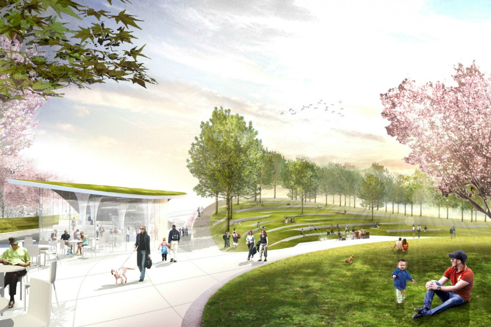 National Mall Winning Design Proposal for Sylvan Theater / Weiss/Manfredi + OLIN