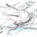 National Mall Winning Design Proposal for Sylvan Theater / Weiss/Manfredi + OLIN  (18) Sylvan Sketch - Courtesy of Weiss/Manfredi + OLIN
