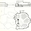 AD Classics: Holy Cross Church in Chur, Switzerland / Walter Förderer (8) plan + section