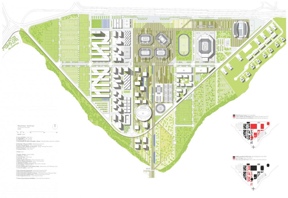 Rio 2016 Olympic Park Proposal / Mecanoo Architecten