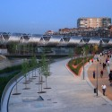 Arganzuela Footbridge / Dominique Perrault Architecture © Ayuntamiento de Madrid / DPA / Adagp