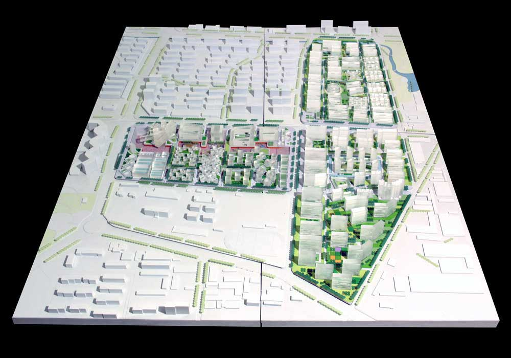 Qingdao Master Plan / HAO + Archiland
