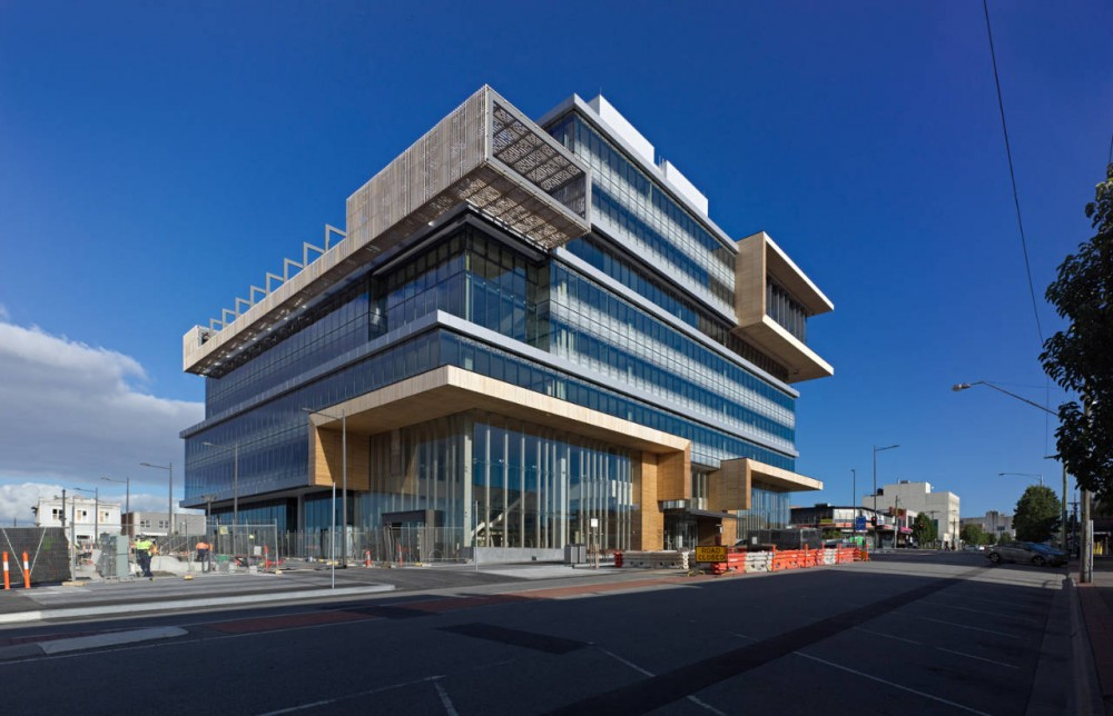 Dandenong Government Services Offices / HASSELL