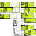 Plans; 40 x Residing in Aspern, Vienna / SUE Architekten (20)  Hertha Hurnaus