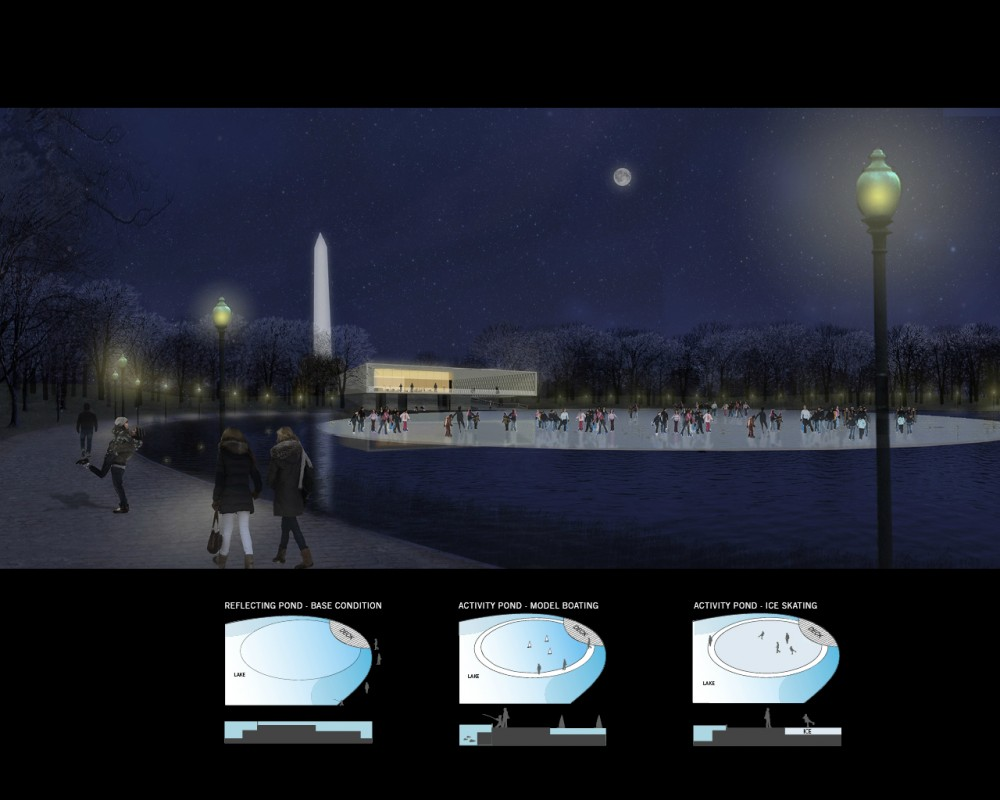 National Mall Winning Design Proposal for Constitution Gardens / Rogers Marvel Architects  + PWP Landscape Architecture
