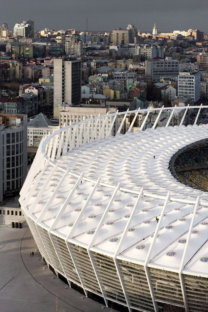 Kiev Olympic Stadium / gmp Architekten