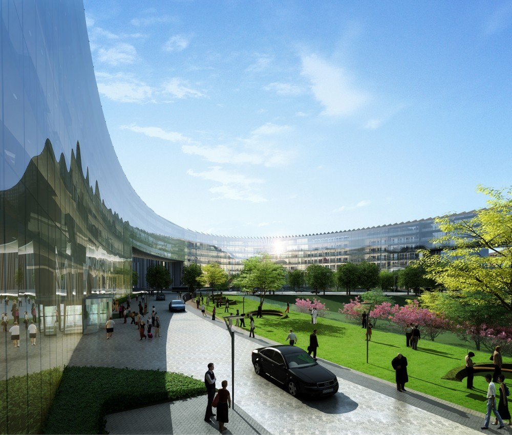 Baidu Science and Technology Campus / ZNA Architects