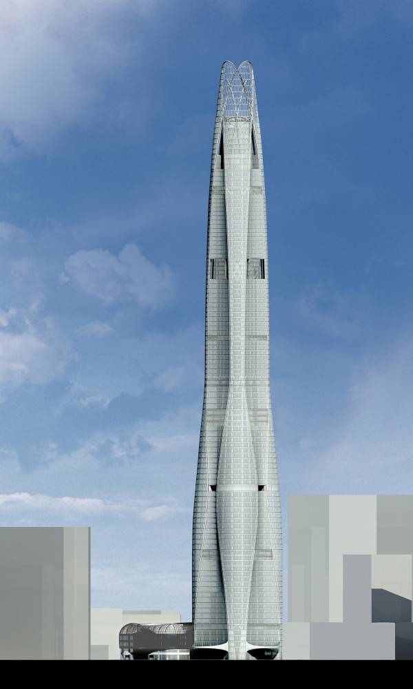Construction begins on SOM's newest Supertall Skyscraper
