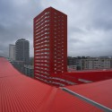 242 Social Housing Units in Salburúa / ACXT  (21) © Aitor Ortiz