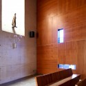 Los Nogales School Chapel / Daniel Bonilla Arquitectos  Ricardo Amado Fotografa