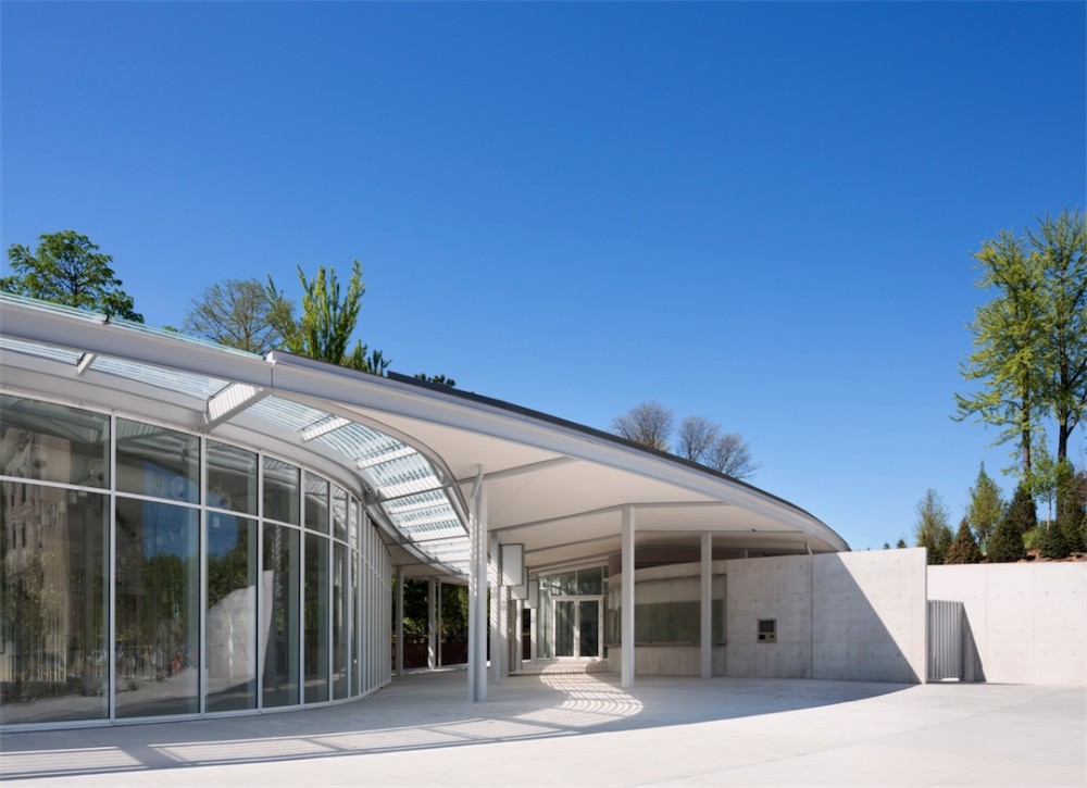 Architecture Photography Brooklyn Botanic Garden Visitor Center Opens To The Public 4 235497