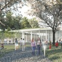 Brooklyn Botanic Garden Visitor Center Opens to the Public (21) Courtesy of Weiss / Manfredi