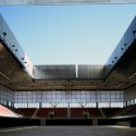 Olympic Tennis Centre / Dominique Perrault Architecture (16)  Georges Fessy / DPA / Adagp