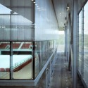 Olympic Tennis Centre / Dominique Perrault Architecture (25)  Georges Fessy / DPA / Adagp