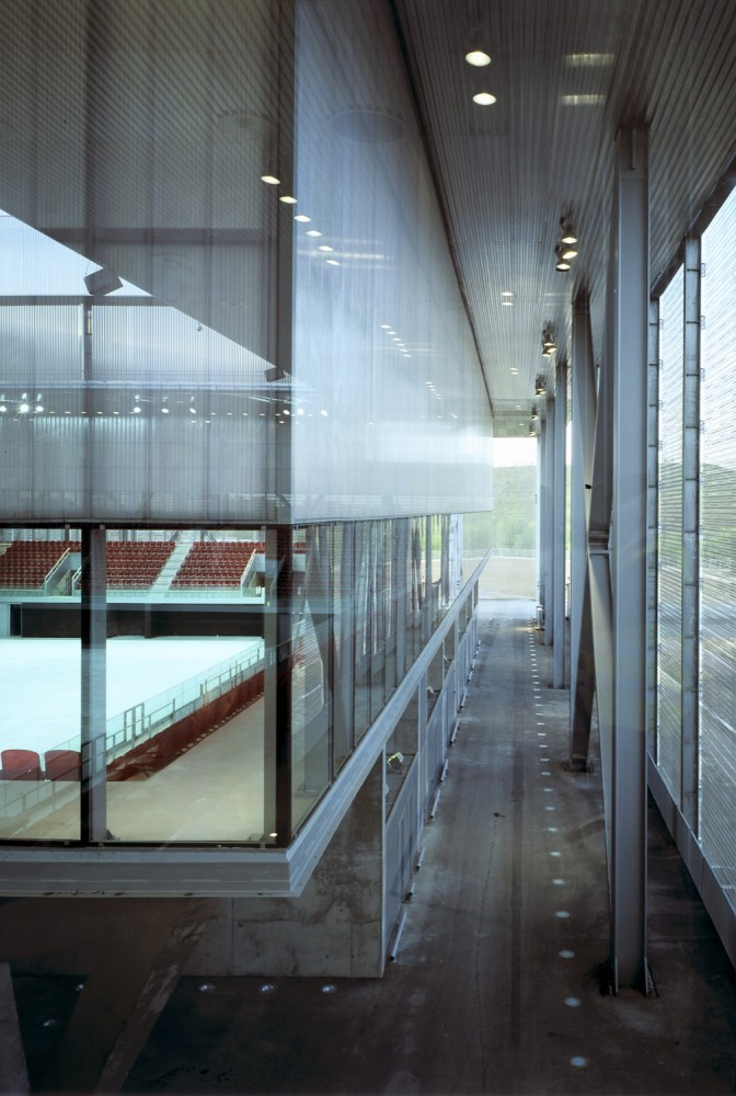 Olympic Tennis Centre / Dominique Perrault Architecture