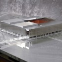 Olympic Tennis Centre / Dominique Perrault Architecture (59) model