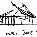 Olympic Tennis Centre / Dominique Perrault Architecture (74) sketch