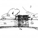 Olympic Tennis Centre / Dominique Perrault Architecture (78) sketch