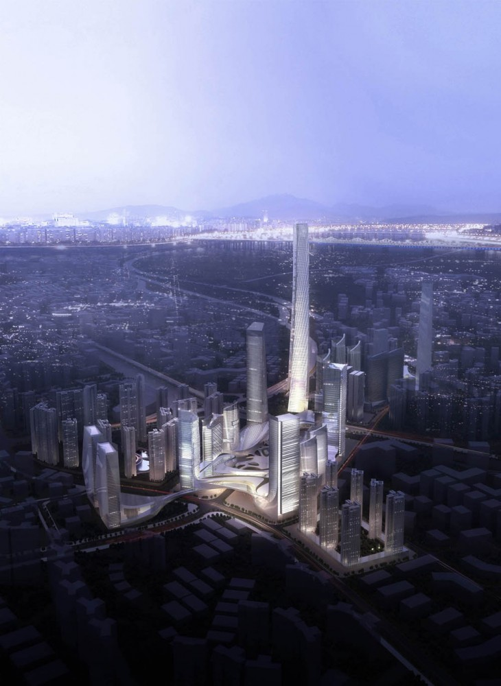 Masterplan for the Honghe Project / AECOM