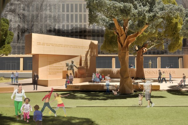 Update: Dwight D. Eisenhower Memorial / Frank Gehry
