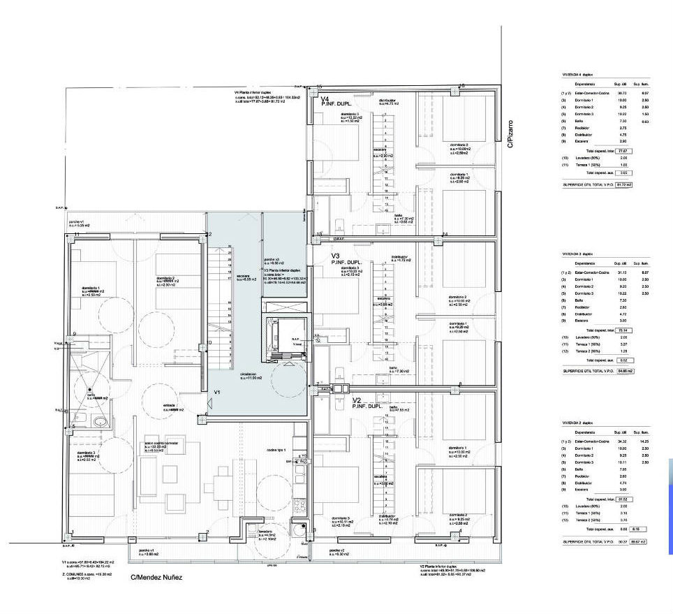 Architecture photography 3rd floor plan 236369 for Apartment block plans