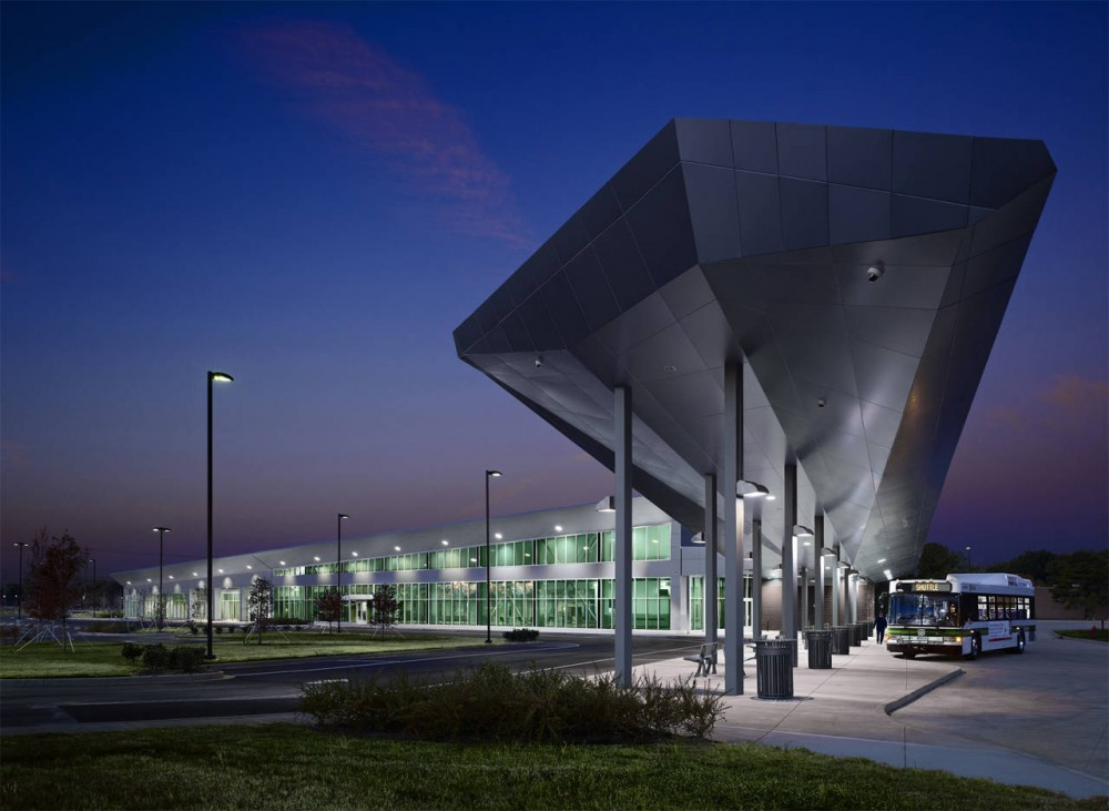 MATA South Intermodal Facility / brg3s architects