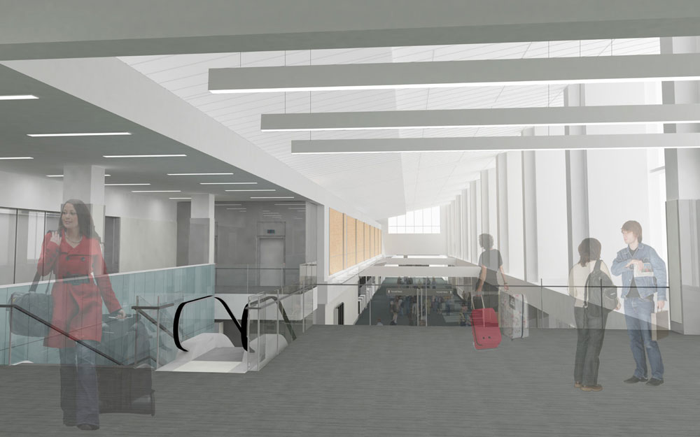 Raleigh-Durham International Airport (RDU) Terminal 1 Renovations / Pearce Brinkley Cease + Lee