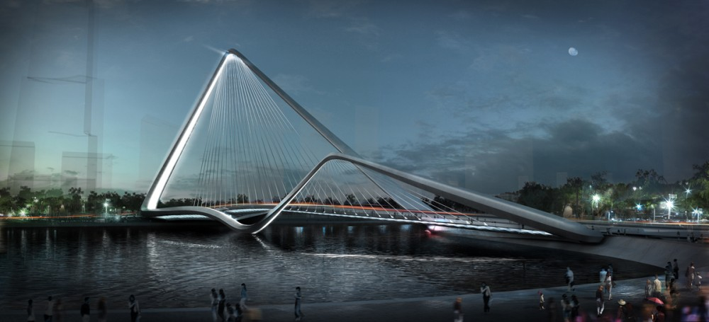 Infinity Loop Bridge / 10 Design + Buro Happold