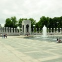 ArchDaily takes on the National Mall by Bike (5) Wold War II Memorial © Karissa Rosenfield / ArchDaily