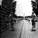 ArchDaily takes on the National Mall by Bike (9) Vietnam Veterans Memorial © Karissa Rosenfield / ArchDaily